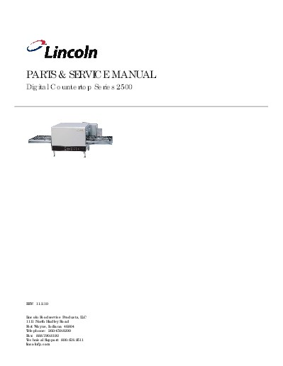 lincoln product rh lincolnfp com Lincoln Impinger 1000 lincoln impinger 1301 owners manual