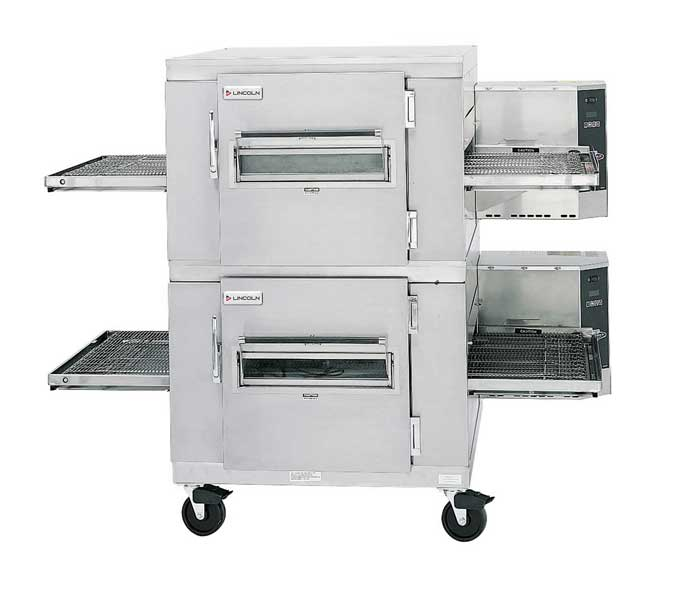 Impinger I 1400 Series Double-Stack Gas Conveyor Ovens